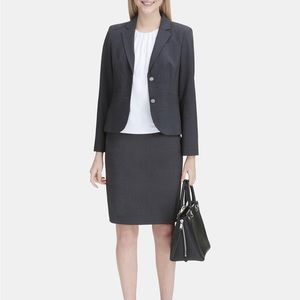 NWT Calvin Klein Two-Button Blazer